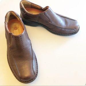 Clarks Un Structured Ramble Step Shoes